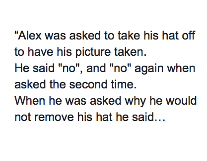 DMV Asks Veteran To Remove His Hat, He Refused